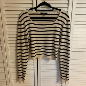 MISSGUIDED STRIPES LONG SLEEVE